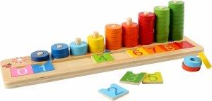 SMALL FOOT Drewniane Liczydło dla Dzieci