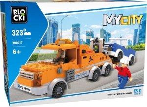 Klocki Blocki MyCity Pomoc Drogowa 323 el.