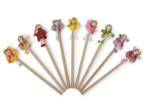 SMALL FOOT Pencils Flower Girl - ołówki 9 sztuk (dziewczynka kwiat)