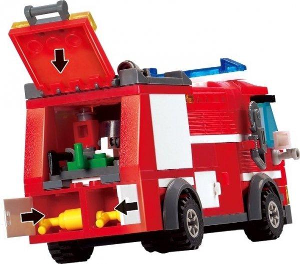 Klocki Blocki MyFireBrigade Auto Strażackie 206 el.