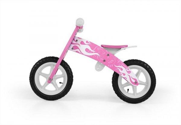 Milly Mally Rowerek Biegowy Flip Pink (0303)