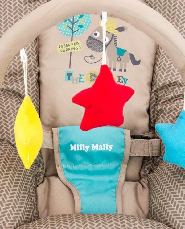 Milly Mally Leżaczek Milly Khaki Toys (0470, Milly Mally)
