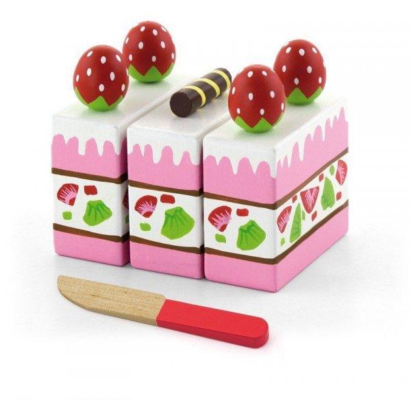 Viga 51324 Zestaw do krojenia - tort truskawkowy