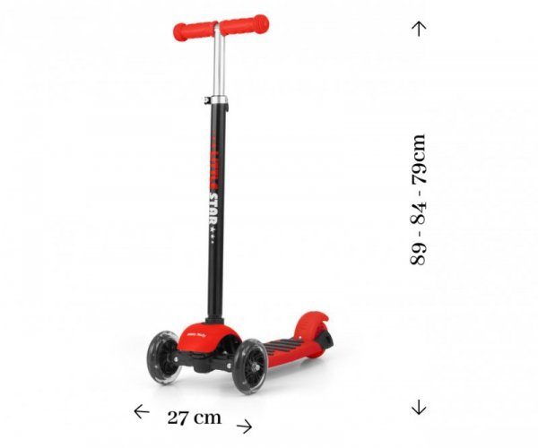 Scooter Little Star Red (1596, Milly Mally)