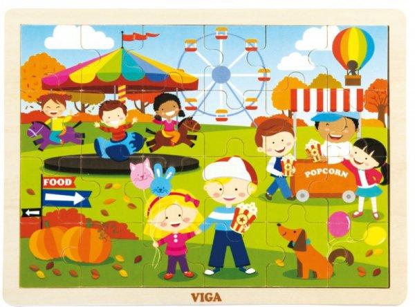 Viga 51271 Puzzle cztery pory roku - jesień