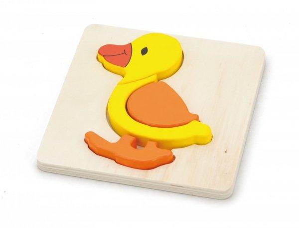 Viga 59929 Pierwsze puzzle maluszka - kaczka (box)