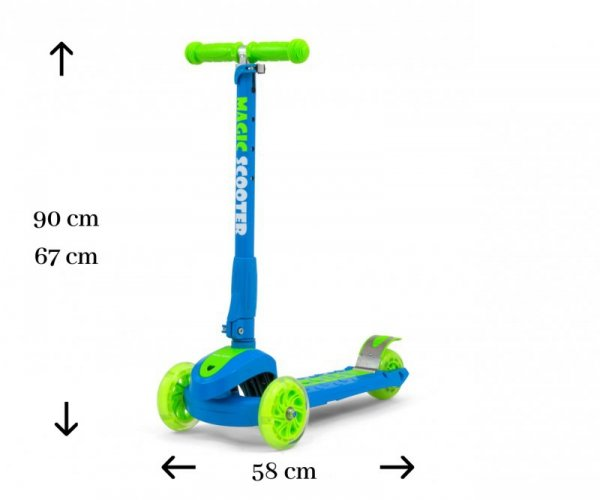 Scooter Magic Blue-Green
