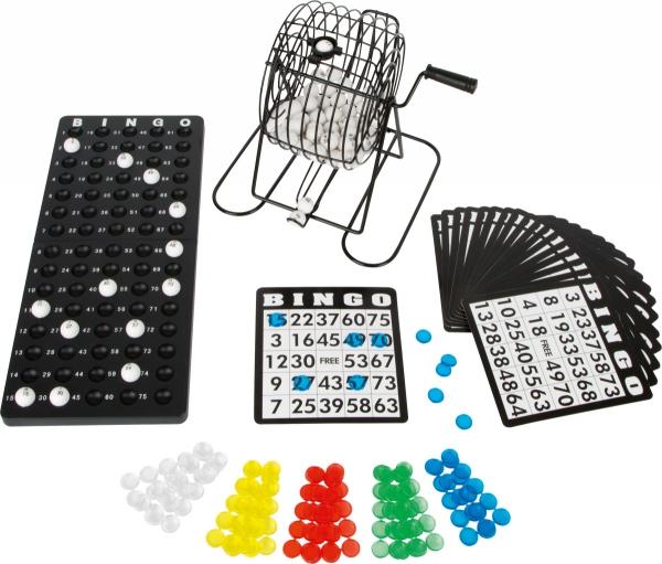SMALL FOOT Bingo X - Bingo z Maszyną Losującą