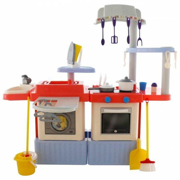 Kuchnia z obiegiem wody z akcesoriami i zestawem sprzątającym Wader