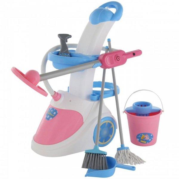 Zestaw wózek do sprzątania Wader z odkurzaczem