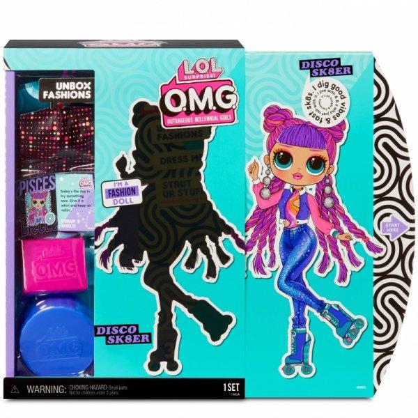 L.O.L. Surprise OMG Doll Series 3- Disco Sk8 Lalka Fashion