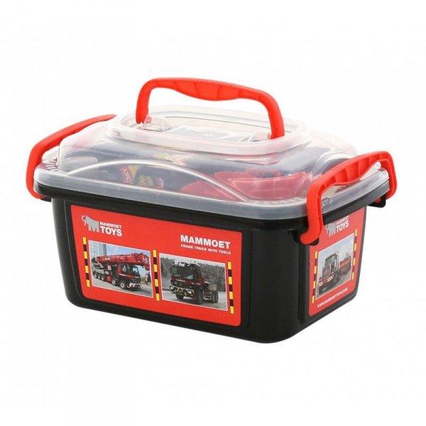 Wader QT MAMMOET Zestaw narzędzi w walizce + auto 37 elementów