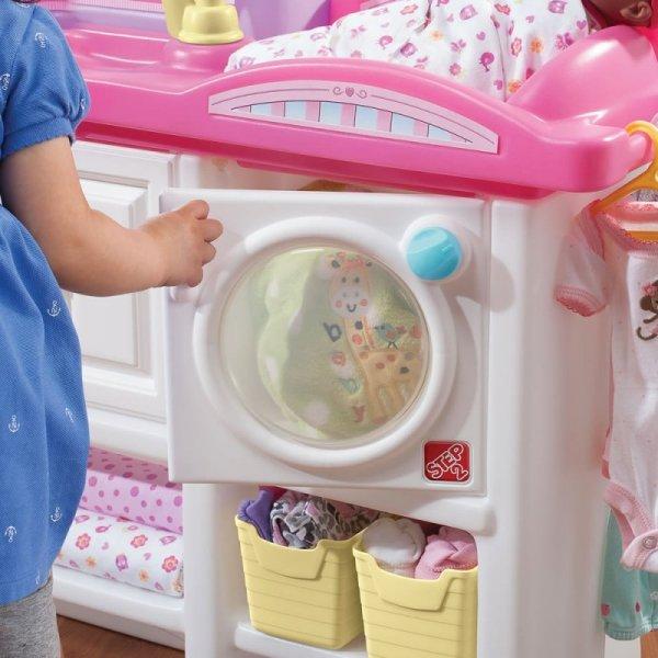 Step2 Opiekunka Kącik Opiekunki Pokój Zabaw dla lalek