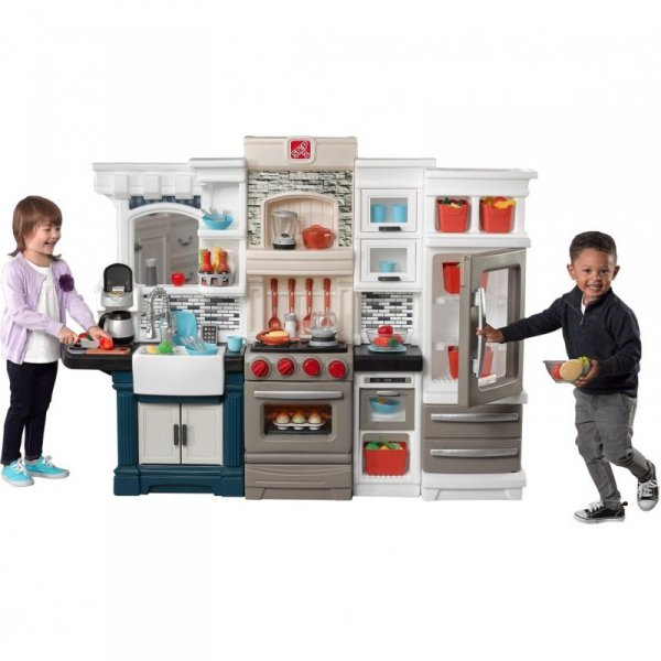 Duża Kuchnia dla dzieci ze światłem i akcesoriami Grand Luxe Step2