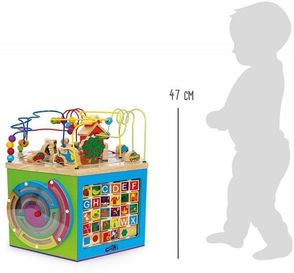 SMALL FOOT Motor Activity Cube Giuliano - kostka interaktywna