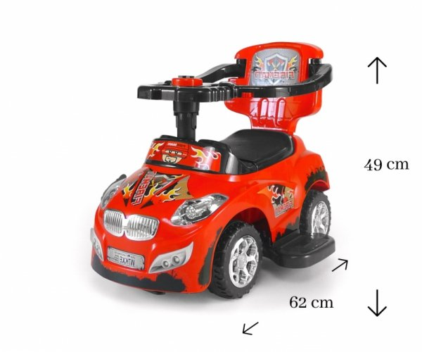 Pojazd Happy Red