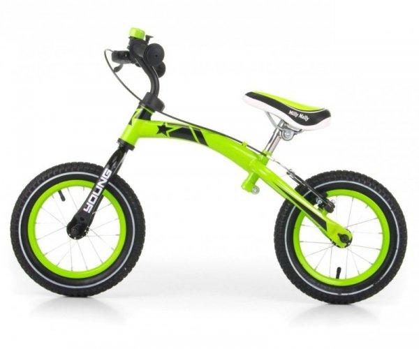 Rowerek Biegowy Young Green