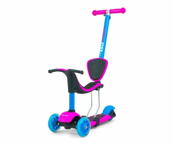 Scooter Little Star Pink-Blue