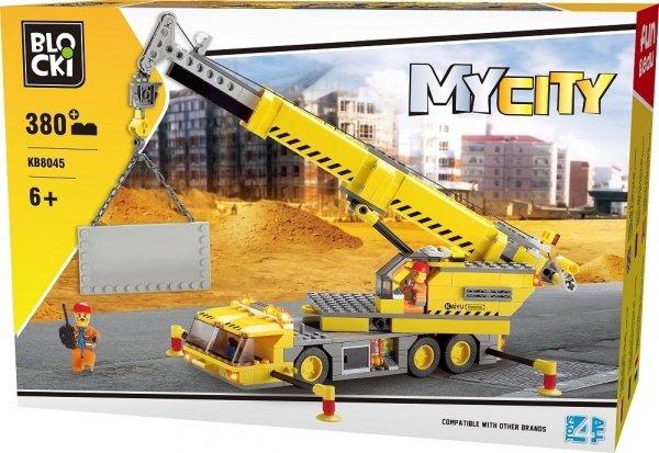 Klocki Blocki MyCity Dźwig 380 el.