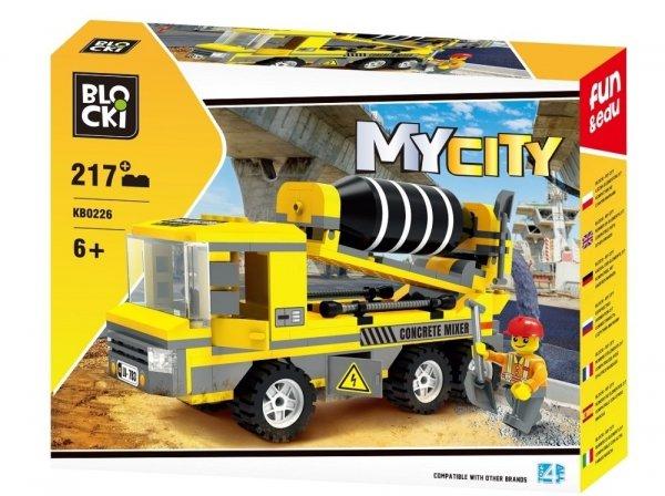 Klocki Blocki MyCity Betoniarka 217 el.