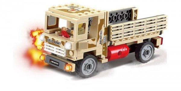 Klocki Blocki MyArmy Ciężarówka Wojskowa 183 el.