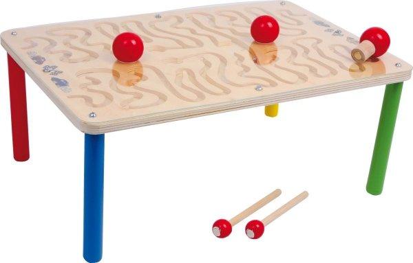SMALL FOOT Gra Wyścigowa - Magnetyczny Stół do Gry