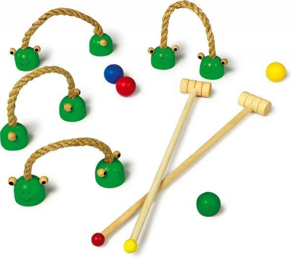 SMALL FOOT Krykiet Gra - zabawka dla dzieci