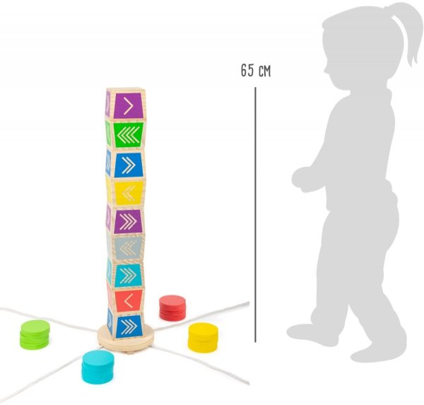 "SMALL FOOT Throwing game Vertical Kubb ""Active"" - rzut do celu"