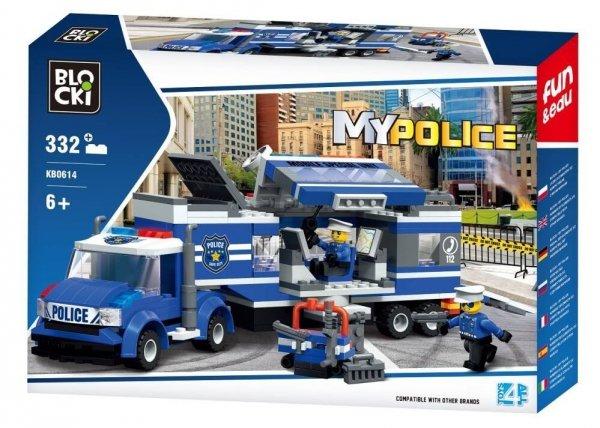 Klocki Blocki MyPolice Mobilny posterunek 332 el.