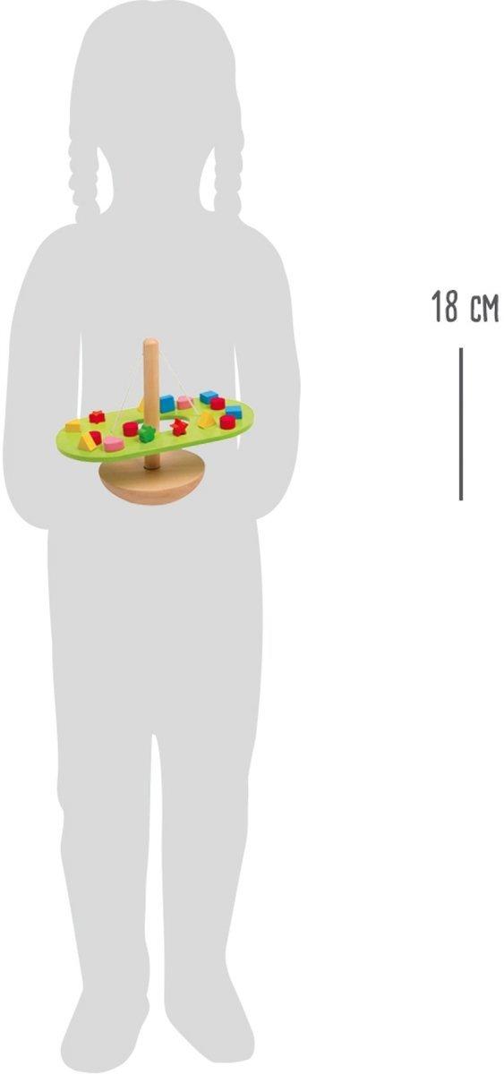 SMALL FOOT gra zręcznościowa balansująca - drewniana równowaga