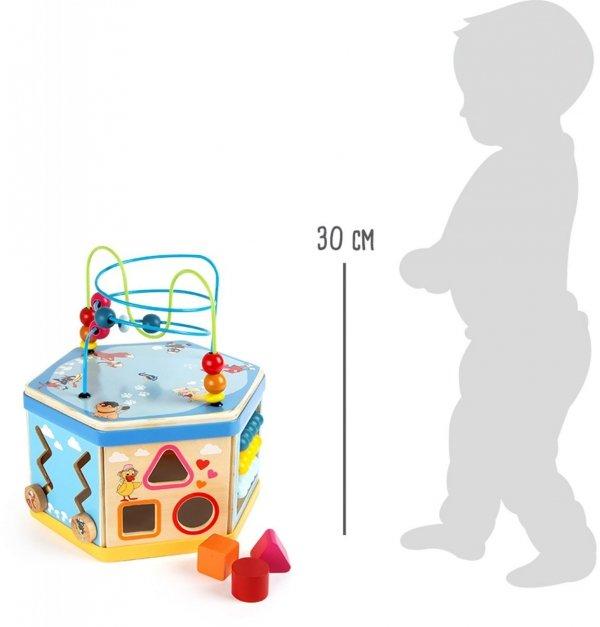 "SMALL FOOT Our Sandman ""Motor Skills Training Cube"" - kostka interaktywna"