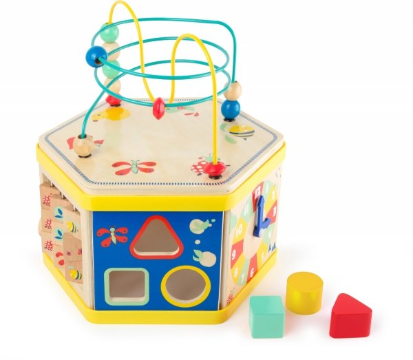 "SMALL FOOT Motor Skills Cube ""Move it!"" - kostka interaktywna"