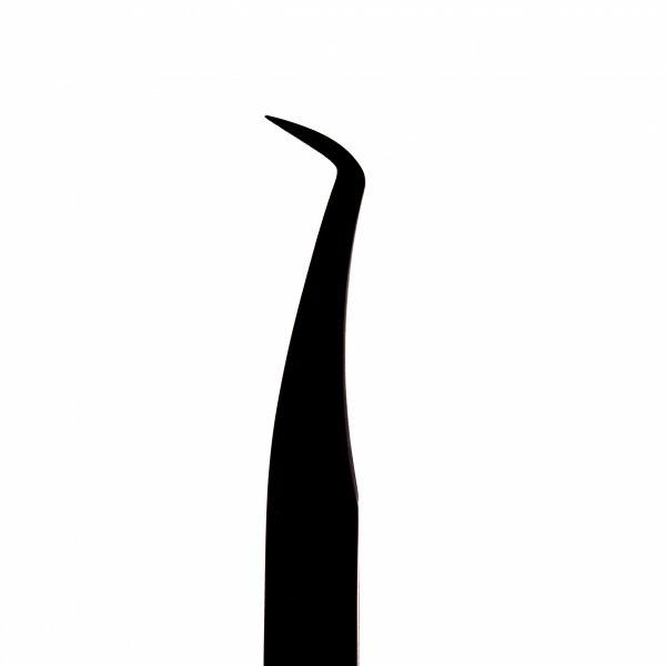 Czarna pęseta Slim Swan