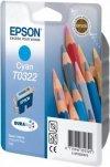 Wkład niebieski do Epson Stylus C70/C80 T0322
