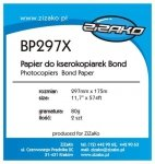 Papier w roli do ksero Yvesso Bond 297x175m 80g BP297X