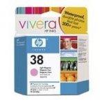 Wkład atramentowy HP No 38 light magenta Vivera pigmentowy do Photosmart A516/618/717/436/B8850/B9180 | 27ml| C9419A