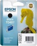 Wkład czarny do Epson Stylus Photo R300/R340/RX500/RX640/R220 T0481