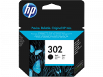 HP Tusz Ink/302 Black Cart F6U66AE
