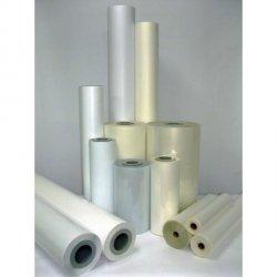 Laminat folia PVC polimeryczna błyszcząca 910x50m 75mic do laminacji na zimno i ciepło