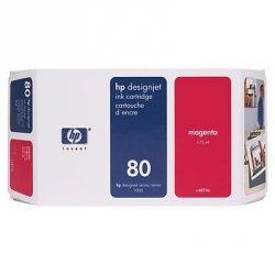 Tusz (Ink) HP 80 magenta (175ml) do DnJ 1050C/1050C+/1055CM/1055CM+ C4874A