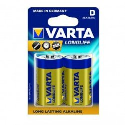 Varta Baterie alkaliczne R20 (typD)longlife 2szt.