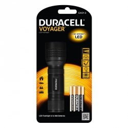 Duracell Latarka LED VOYAGER EASY-3, gumowy grip + 3x AAA
