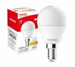 Toshiba Lampa LED 3W 230V 250lm b.ciepły P45