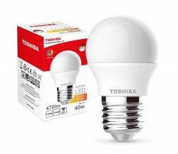 Toshiba Lampa LED 5W 230V 470lm b.ciepły C37