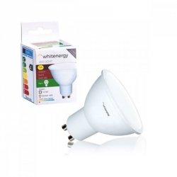 Whitenergy Żarówka LED MR16 GU10 7W 556lm ciepła biała mleczna