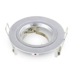 V-tac Oprawa LED VT-775-WH GU10 95x32mm Aluminium Biała okrągła