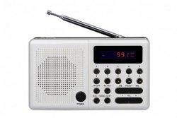 Eltra Radio Pliszka USB, FM białe