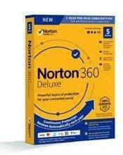 Symantec Norton 360 Delux 50GB PL 1 użytkownik, 5 urządzeń, 1 rok 21395105