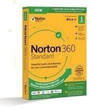 Symantec Norton 360 Standard 10GB PL 1 użytkownik, 1 urządzenie, 1 rok 21395085