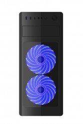 Gembird Obudowa Midi Tower Fornax 1000 B niebieska